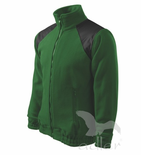 Bunda Unisex Fleece Jacket Hi-Q 360, zelená