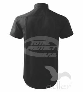 ... černá Košile pánská Shirt short sleeve e67fd996c6
