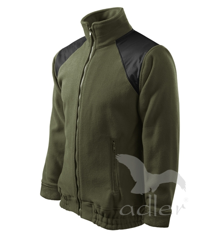 Bunda Unisex Fleece Jacket Hi-Q 360, military
