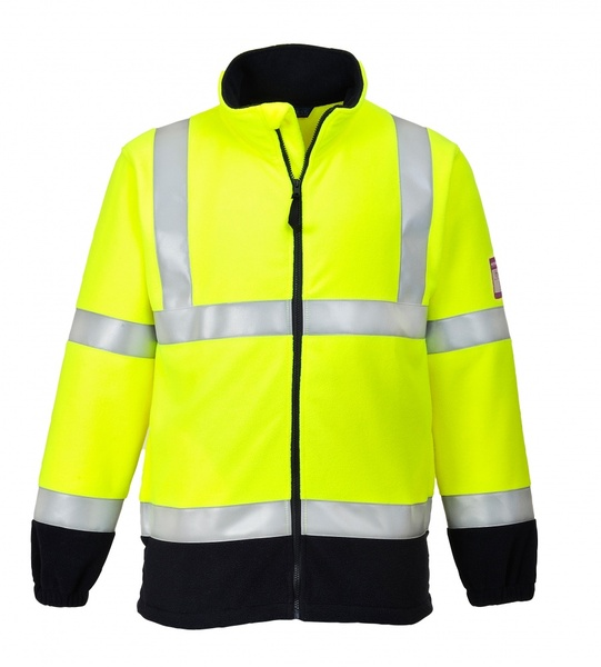 Bunda FAROES Hi-Vis fleece